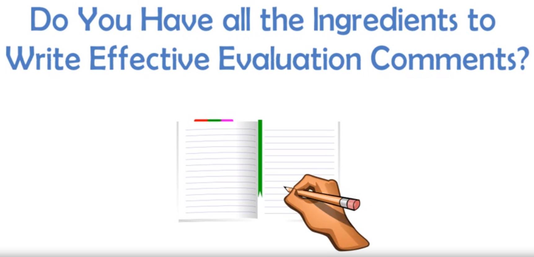 evaluation-comments