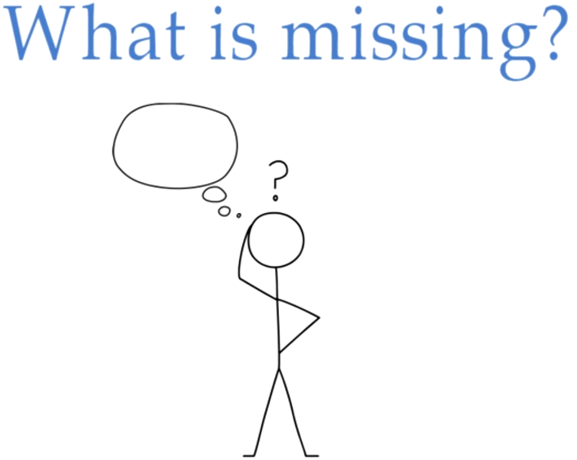 what-is-missing